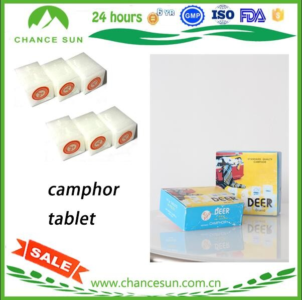 Good Price Camphor Tablet CAS 76-22-2