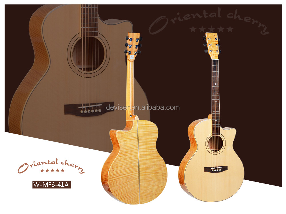 Guangzhou China musical instruments 41inch acoustic guitar