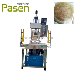 Manufacturer soap moulding machine / soap logo stamper / soap forming logo printing machine