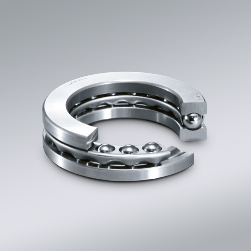 42-0022 thrust ball bearing supplier with nylon cage double direction full shield steel miniature axial load thrust ball bearing