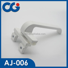 aluminum window hardware zinc alloy power coating Window lock handle