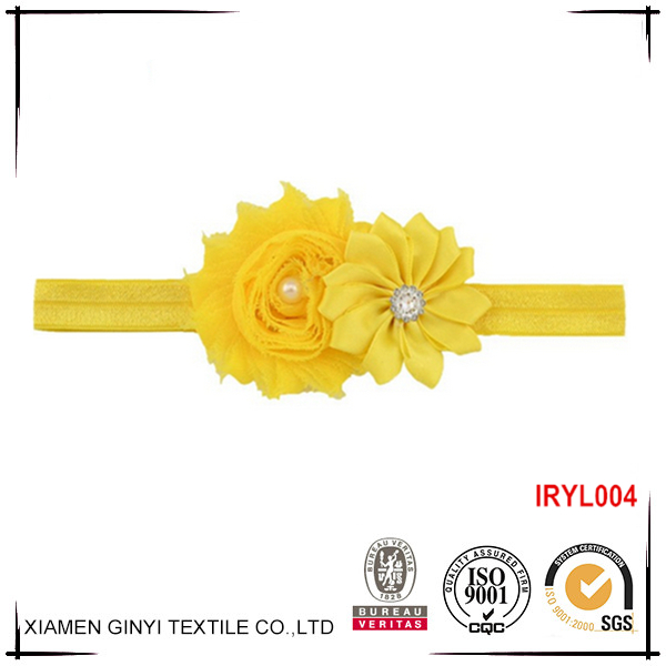 Fashion custom sweet hair accessories baby headband wholesale