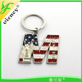 Hot Sale Professional Metal Souvenir New York Keychain Wholesale