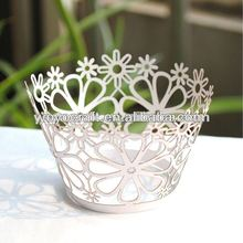 Laser Cut Decorative Cake Wrappers Cup Cake Wrappers Cupcake Wrappers wholesale and retail