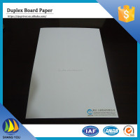 China wholesale carton duplex board white back c2s ningbo paper board for wine box