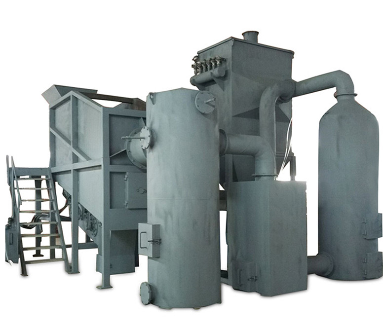 Garbage incinerator waste machines
