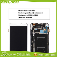 Low Price China Mobile display lcd touch screen for samsung galaxy note 3 n9000 lcd with digitizer assembly