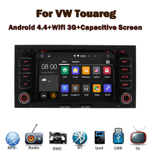 2 din <strong>car</strong> pc android <strong>car</strong> <strong>dvd</strong> for VW Touareg Wifi 3G Bluetooth Radio RDS USB TV IPOD Steering wheel Canbus