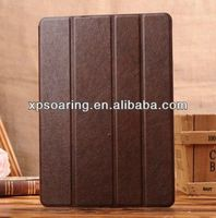 Brand Stand leather case for ipad air four folding case pouch