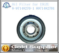 Brand New Oil Filter for ISUZU 8-97148270-1 8971482701with high quality and low price.