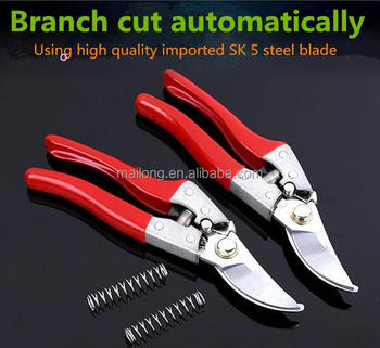 "Manufacturers selling the metal bond SK5 garden scissors pruning shears 8 ""manual saving plastic coated fruit tree flowers sciss"