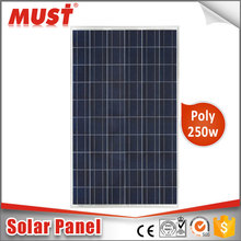 250 watt solar panel manufacturers in china 30V 250W Poly Solar Panel 250w