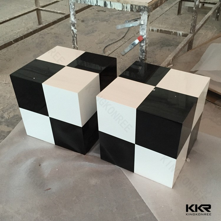 artificial stone chairs shower sex stool solid surface shower stool