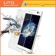 Lito guangzhou mobile phone screen film! best tempered glass screen protector for sony xperia c5