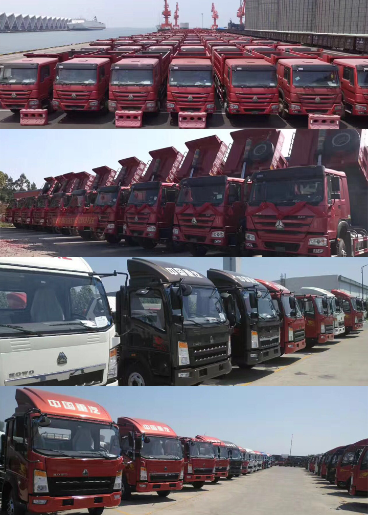 China gold 10wheeler 8x4 tipper dump trucks for sale