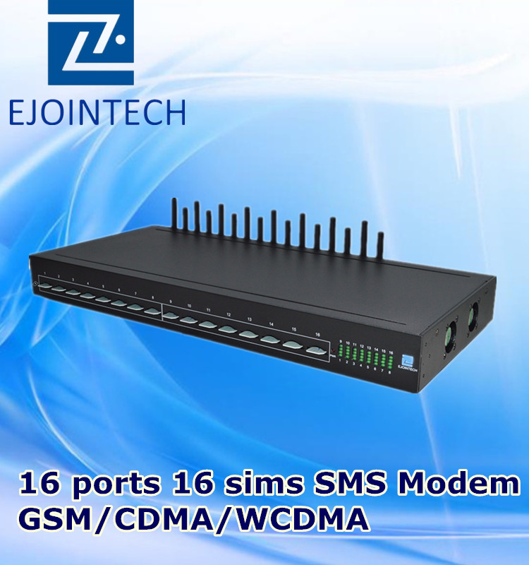 voip 16 channels gateway hardware bulk receive and send sms messages online ethernet gsm 3g modem multi sim card