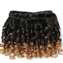 1B/4/27 Ombre Brazilian Hair Virgin Remy Spring Curl Human Hair Curly Weave For Black Woman
