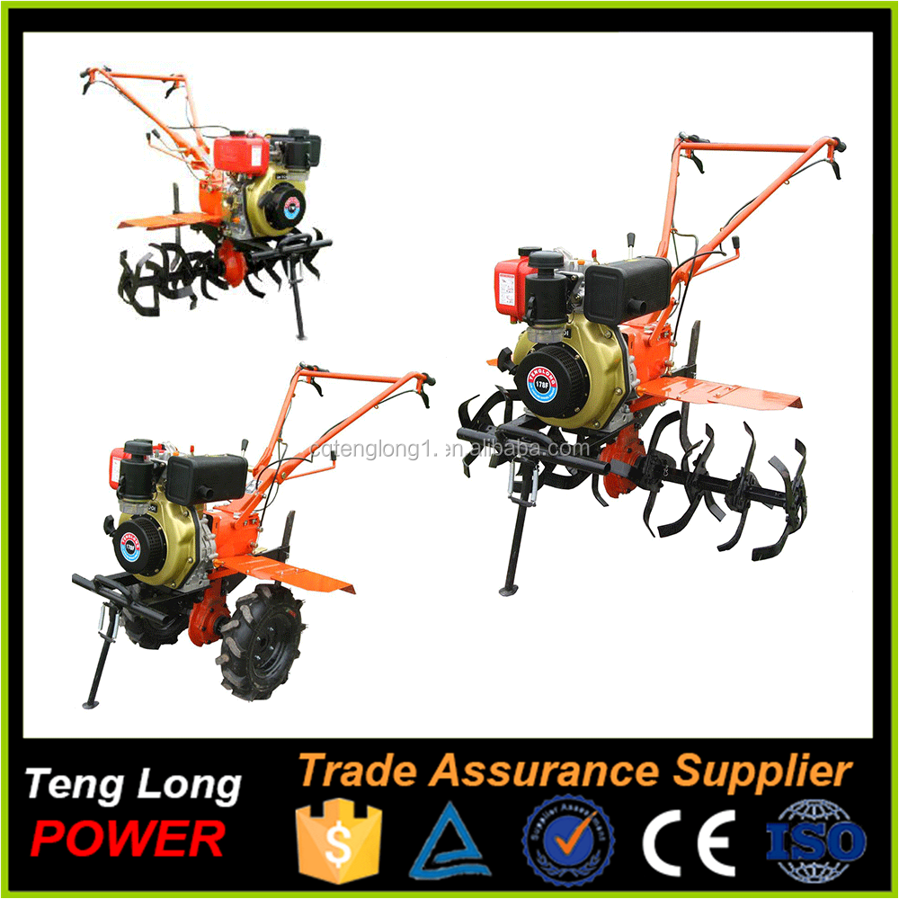 portable electric power cultivator the green machine Suitable size