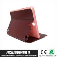 2015 leather case waterproof for ipad case,for ipad mini smart case,for ipad case printer