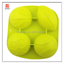 S-C014 popular nice design half ball shape silicone cake mould