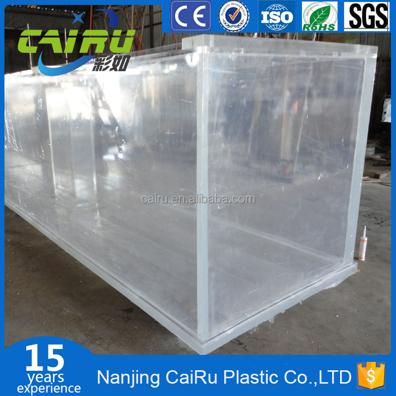 CaiRu Brand Used Acrylic Fish Tank For Sale