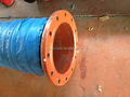 10 inch flange fittings sand absorbing sulfuric acid pipe. Black suction hose