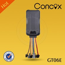 Concox GT06E multi-function stable vehicle 3G gps tracker with acceleration alarm