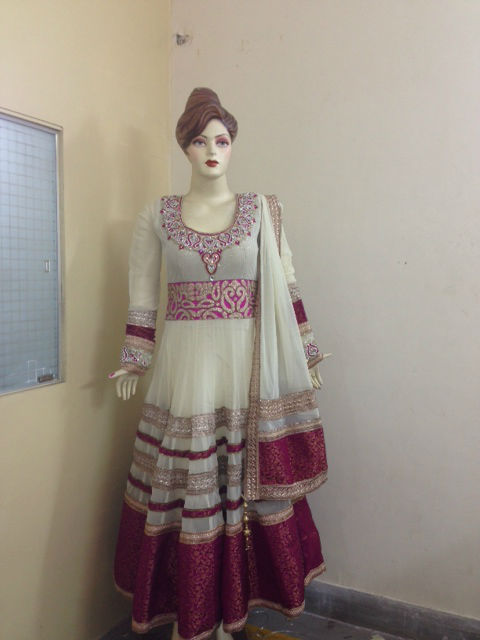 Fancy Long Anarkali Churidar dress