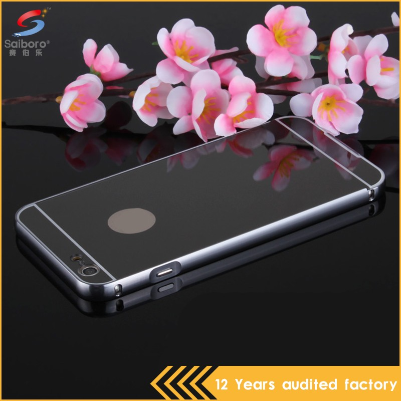 Flexible price promotions mobile phone metal aluminum bumper case cover for iphone 4/4s