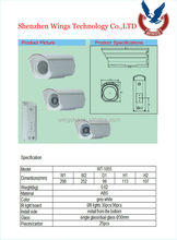 cctv dome camera housing/cctv small camera housing/waterproof cctv bullet camera housing