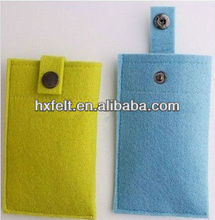 Popular felt phone case for apple iphone as promotion gift