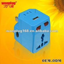 2014 new electronic gift items for men, world travel adaptor (WP-300A)
