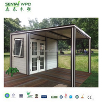 High Quality WPC portable anti aging container shop