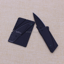 Promotion custom stainless steel credit card clasp knife