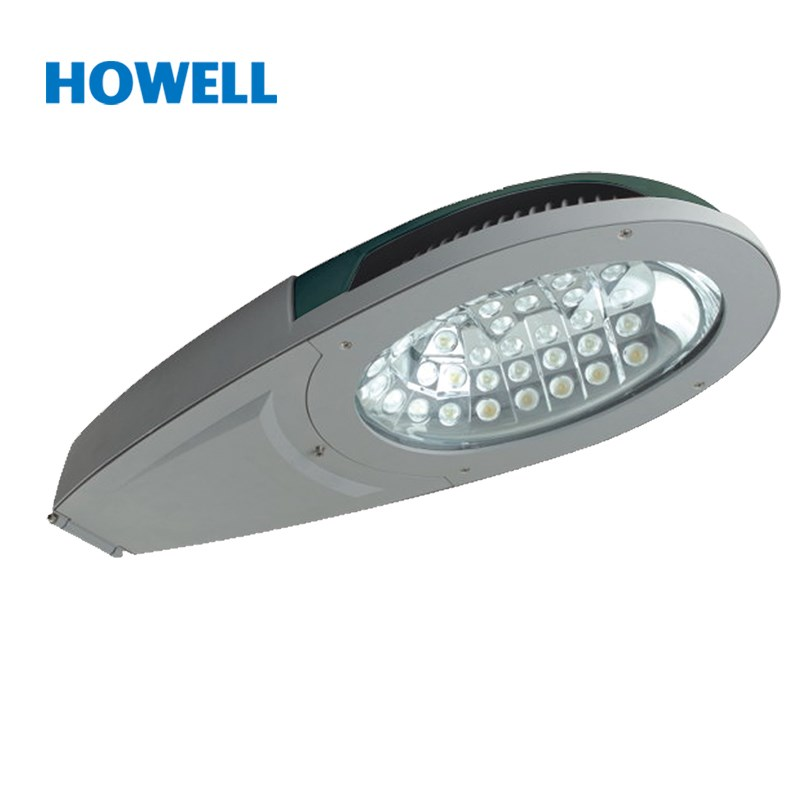 ningbo outdoor lighting CE CB certificate green color silver color 80w led street light lamp