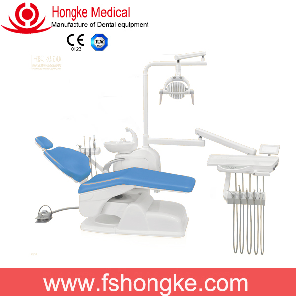2016 Hongke Factory Offer Foshan Popular Dental Chair Unit with CE