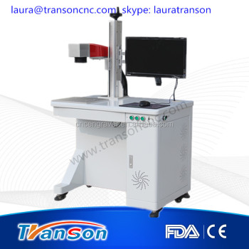 20w desktop fiber marking machine for metal with CE FDA