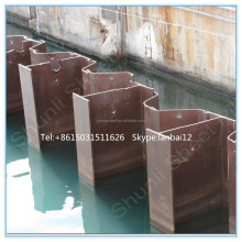 the price of concrete sheet pile for steel fabrication