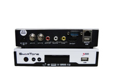 hd decoder smartone s500 with iks + sks + twin tuner in Stock