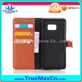 New Arrival Christmas Hot Sale Cell phone Case for Samsung Galaxy Note 7 Back Cover With Card Holder Leather Case