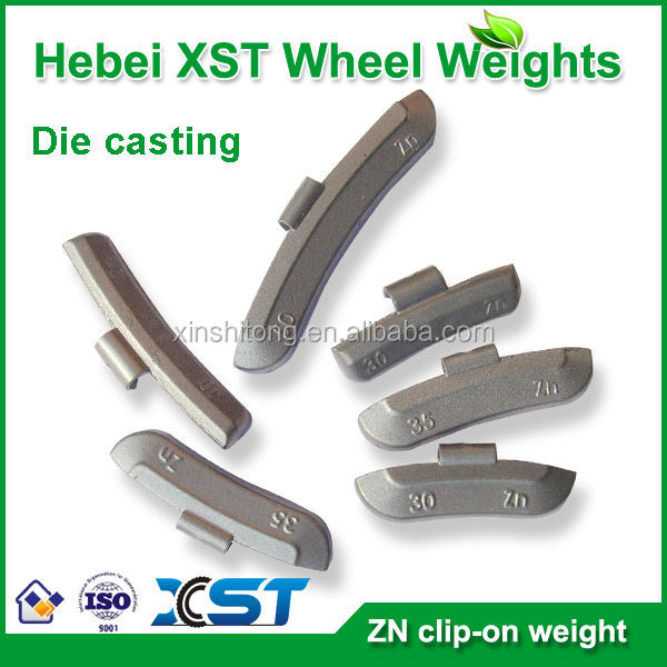 hook-style wheel counter weight Spray Coating