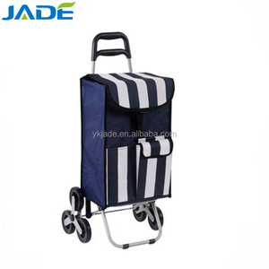 6 wheel foldable luggage cart trolley for climbing stairs,America style 3 wheels shopping trolley on taobao
