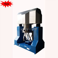 Double planetary vacuum chemical hydraulic mixer/bender/agitator