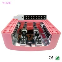 High Quality 9w AC220V LED/UV Gel Nail Polish Light with 15s Curing Time