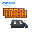 Amber Color LED Gas Price Sign, 7 Segment LED Display