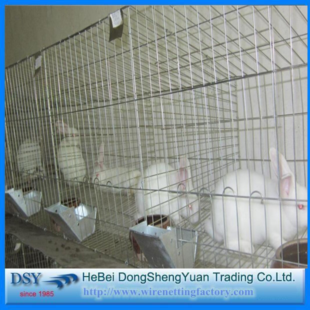 wire rabbit cages sale/industrial cages for rabbit/rabbit cages commercial