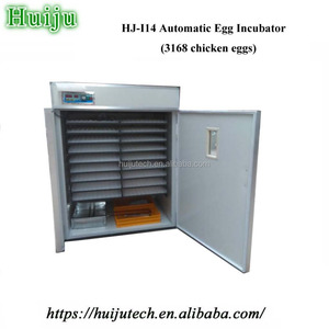 180 seconds egg-turning automatic hatching 3000 chicken egg incubator HJ-I14