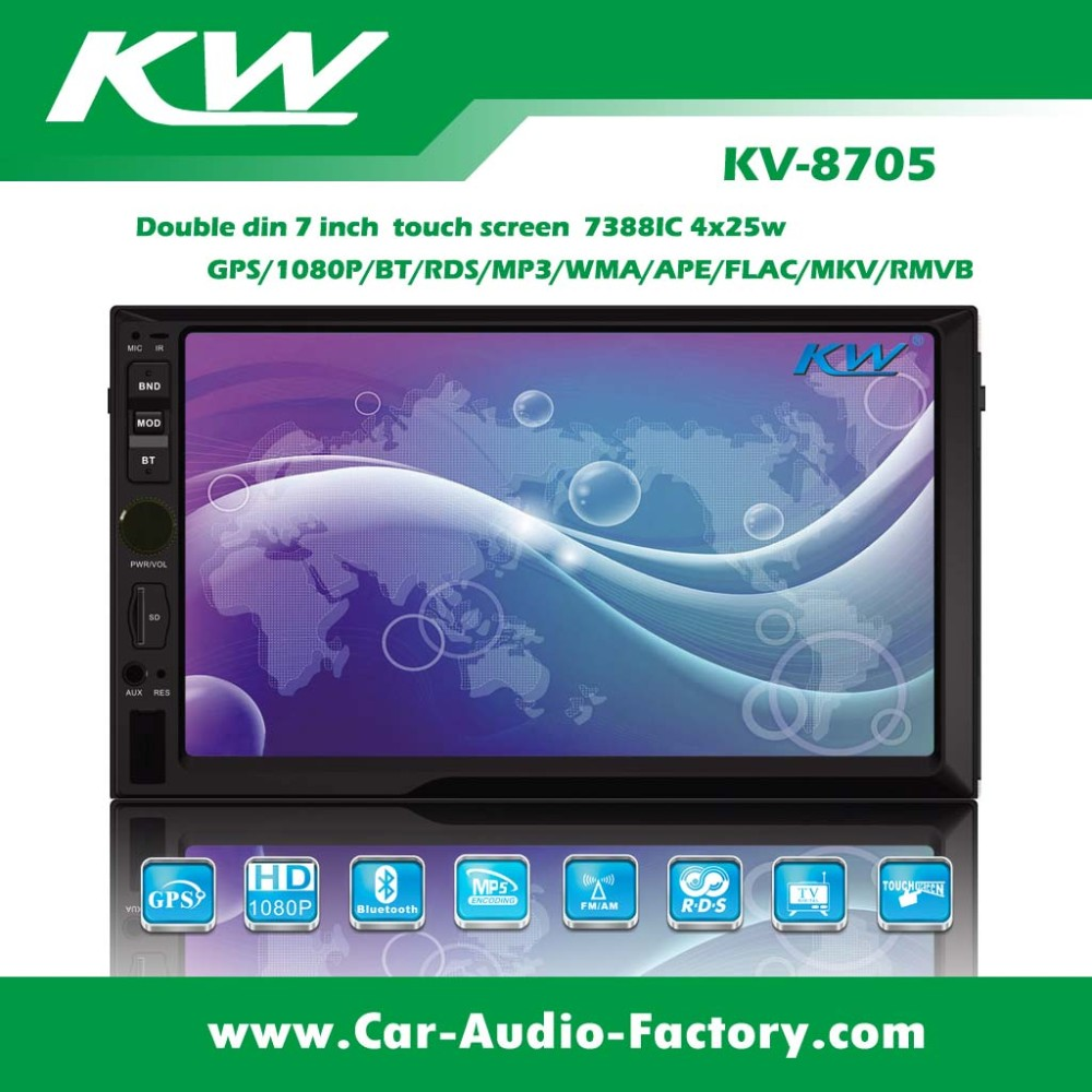 7 inch deckless/GPS/BT/TOUCH SCREEN car mp5 player