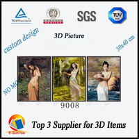 3d picture for nude women/3d lenticular images/3d flip pictures