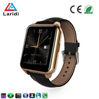 Wholesale touch screen waterproof led watch bluetooth android phone watches heart rate monitor smart watch F2